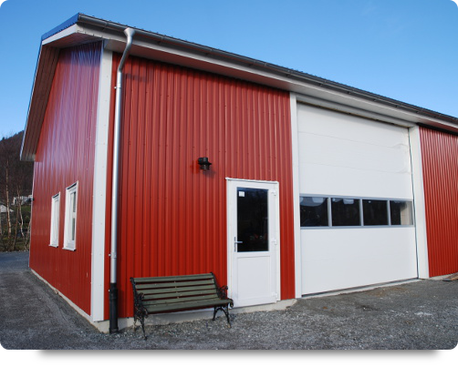 Redskapshus oppført på Jørpeland