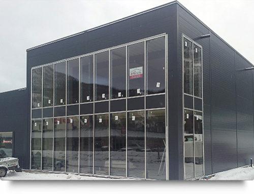 Vi utfører prosjektering og montering av stålbygg