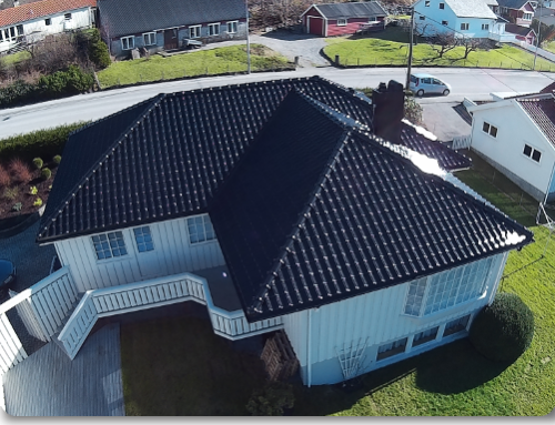 Bytte av tak på hus