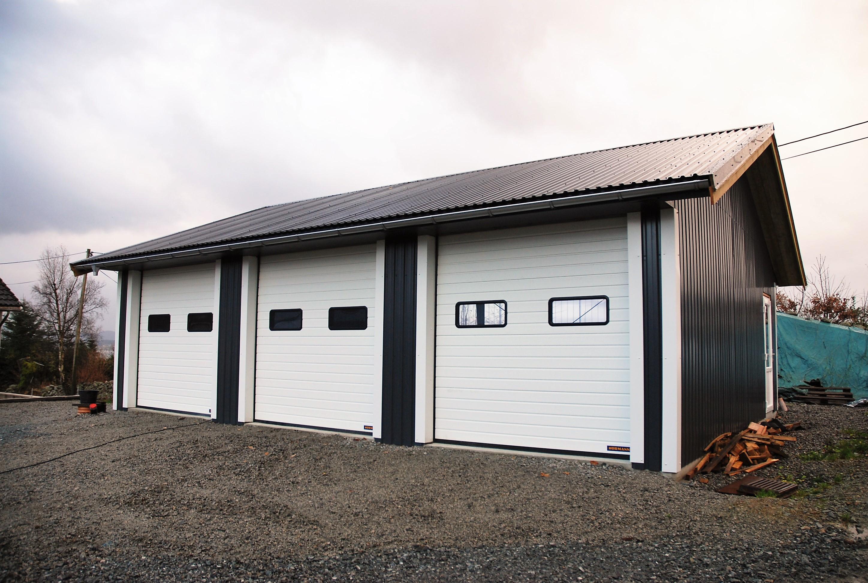 Stålbygg garasje